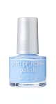 813 -Mermaid Blue   princess collection pritinyc 5 free nail polish lacquer.
