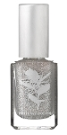 676-Silver Comet  *pritinyc vegan luxury nail polish lacquer.[can be used as a topcoat]