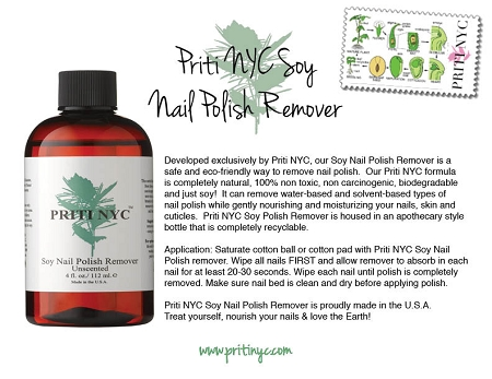 916 Soy Nail Polish Remover - Unscented 4 oz.