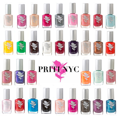 Non-toxic nail polish 35% clearance sale at Priti NYC, ends 6/30! featured on Shopalicious.com