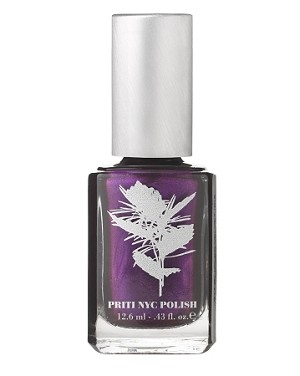 617-Ruffled Velvet Iris [Limited edition] pritinyc vegan luxury  shimmer nail polish lacquer.