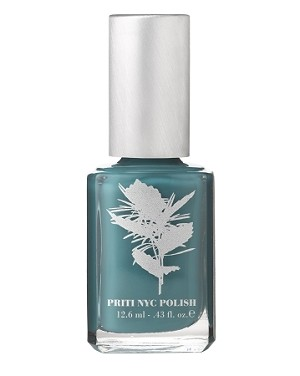 646-Tulip Tree Teal  pritinyc 5 free nail polish lacquer.