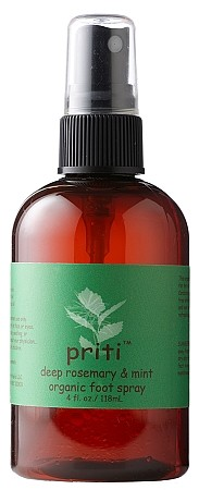 Priti Deep - Rosemary & Mint Organic Foot Spray 4 oz.