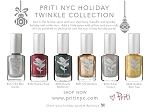 PRITINYC HOLIDAY TWINKLE VEGAN NAIL POLISH COLLECTION