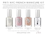 Priti NYC French Manicure Kit