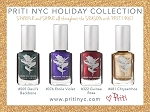 PRITINYC  Holiday 2018 collection. of luxury vegan colors.