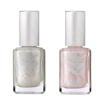Winter Glitter vegan nail polish duo
