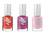 Un mariage électrique  bright orange and pink  vegan nail polish collection