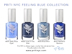Feeling Blue vegan nail polish collection