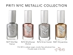 Metallic vegan nail polish  Collection