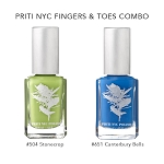 PRITINYC fingers and toes combos stonecrop and canterbury bells